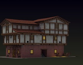 3D model Small Ancient Apartment