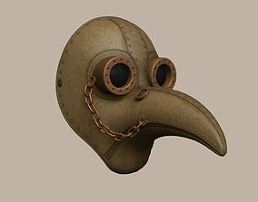 Plague Doctor Mask - Sci-Fi - Character Design 3D model