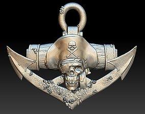 Pirate Skull 2 - relief - 2020 3D print model