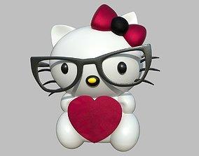 Hello Kitty HighPoly 3D model