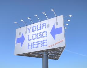Advertising Billboard Version 1 3D model