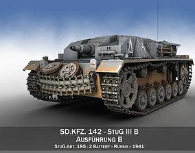 3D StuG III - Ausf B - StuG Abt 185