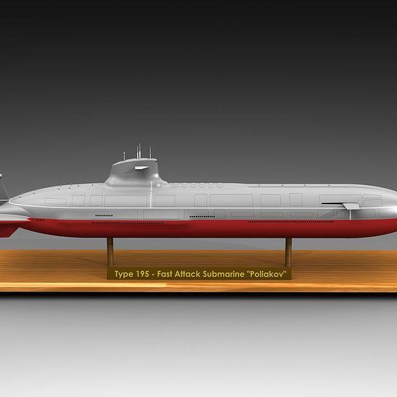 "Fast Attack Submarine ""Poliakov"""