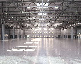 Warehouse 3D model hangar
