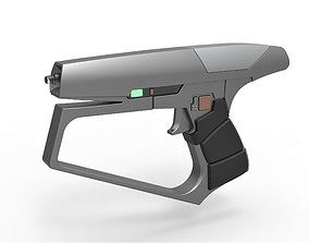 3D print model Maquis Blaster pistol from Star Trek 2