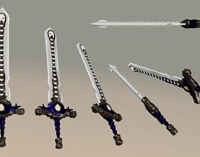 Doombringer Sword 3D asset