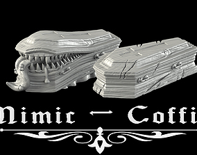 3D print model Mimic coffin