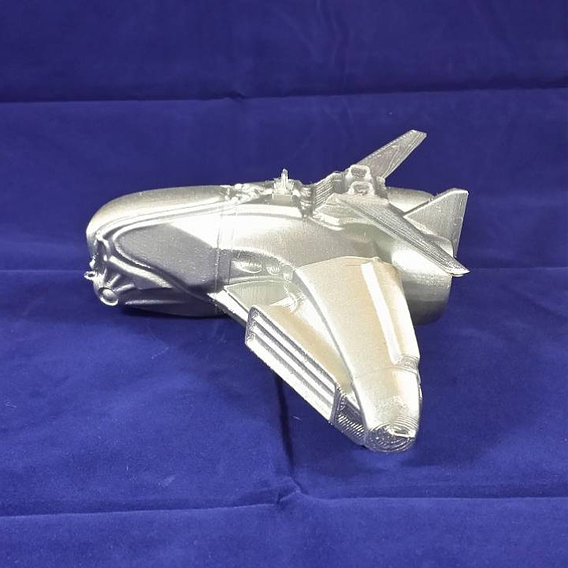 Intergalactic Spaceship 3D-Printable