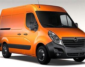 Opel Movano L1H2 Van 2016 3D