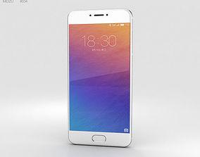 3D phone Meizu Pro 6 Silver