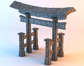 3D asset Sci-Fi Shapes - The Torii