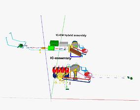 IC motor 2 3D print model