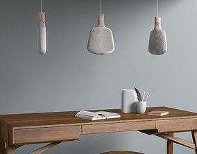 Leaf shaped lampshade 3D printable model