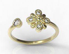 ruby 3D print model Ring