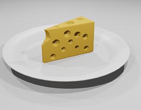 Jerry Cheesecake 3D asset