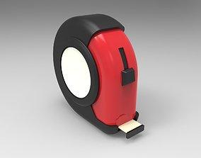 3D model industrial Measuring tape