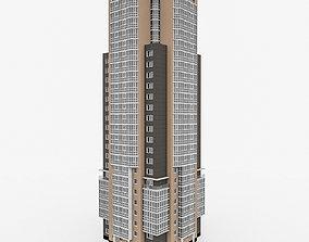 3D model Residential High-RiseBuilding 2
