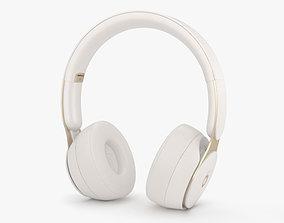 3D Beats Solo Pro Ivory
