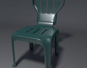 3D model Plastic Chair - 1 - d