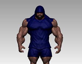 bodybuilder motivation 3D asset