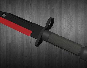 AAA M9 Bayonet Knife 3D asset