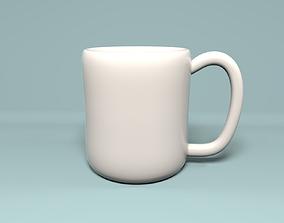 Ceramic Coffee Mug V01 3D