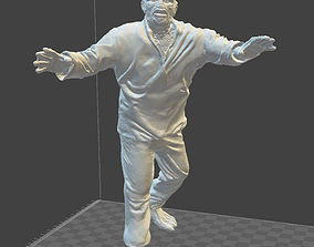 3D printable model Creature from the black lagoon WALKS 3