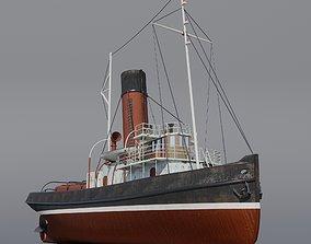 Tugboat Jofree 3D asset