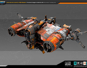 3D asset Smuggler Frigate SM4
