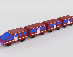 Express train for children 3D model