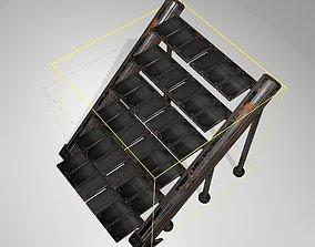 3D model Futuristic Stairs - 16 - Rusty