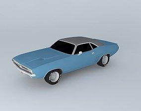 Dodge Challenger RT 1971 3D model