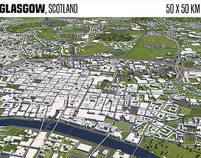 3D model Glasgow Scotland