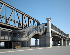 3D Elevated Railway