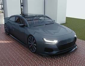 3D model BLENDER EEVEE Brandless Mid Size 2 2
