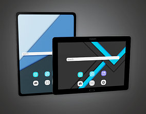 3D model HLW - Touch Tablet - PBR Game Ready