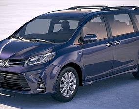 3D Toyota Sienna 2018