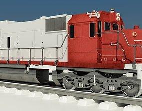 Train Engine SOO 777 3D print model