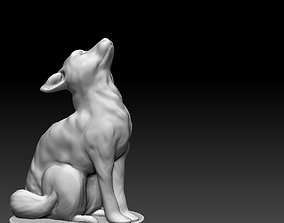 Baby fox 3D printable model