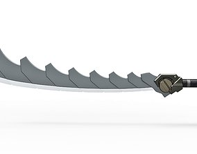 3D printable model Super composite sword from the game 2