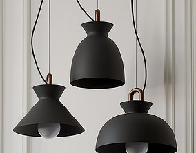 3D Colombo Modern Pendant Light by Tudo and Co