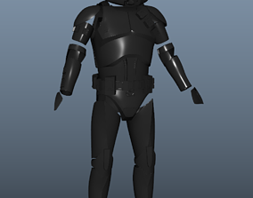 3D printable model Purge Trooper Armor