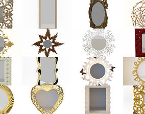 3D Collection different mirrors your projects 29 models