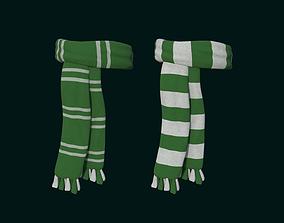 3D model Hogwarts Scarf - Sonserine - Harry Potter 1