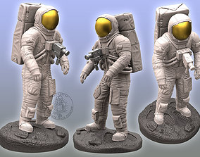 Apollo Astronaut Sculpture 3D print model
