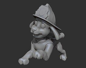 Marshall firfighter 3D print model