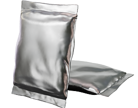 packaging Packaging bag 3D Model Free PBR