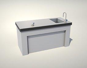 Science Desk 3D model