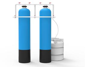 3D model Storage Water Softener