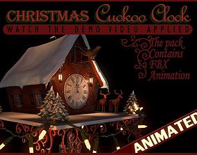 Christmas Cuckoo Clock 3D model